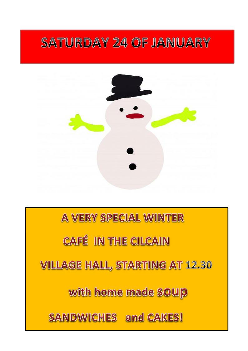 Cafe 24th January 21015
