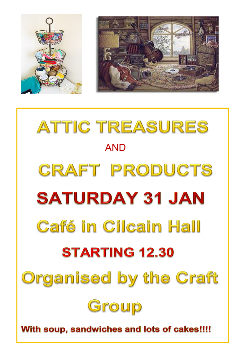 Craft Group Cafe 31st January 2015