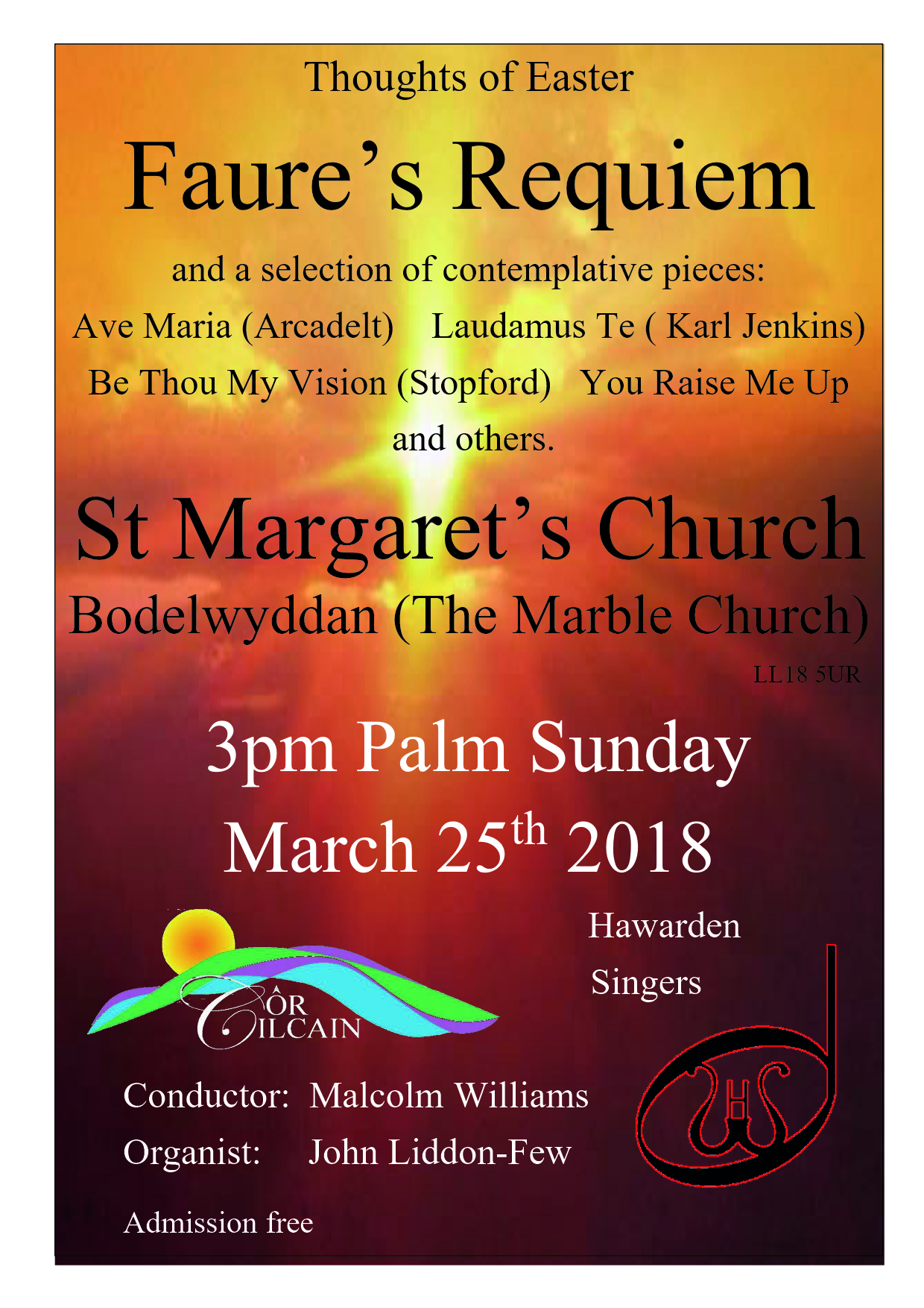 Concert at The Marble Church, Bodelwyddan – Cilcain Village